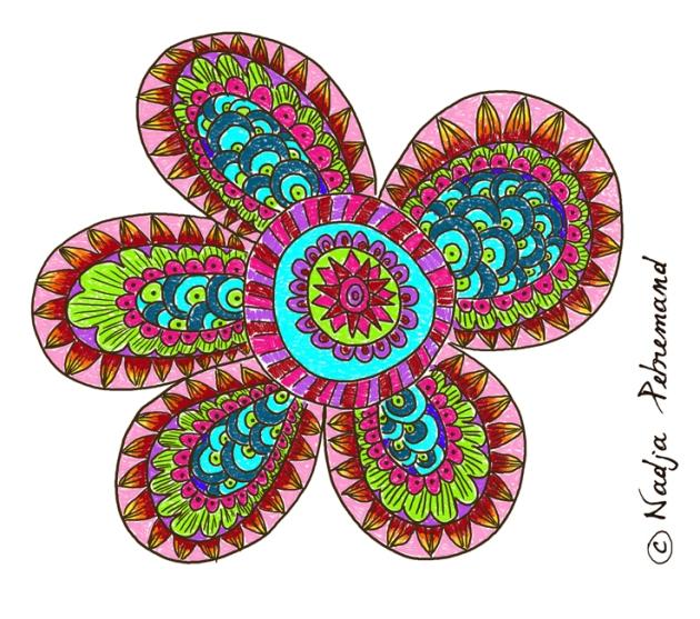 fleur à imprimer