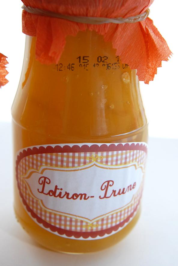 free pintable label jam-confiture de potiron prune maison 3