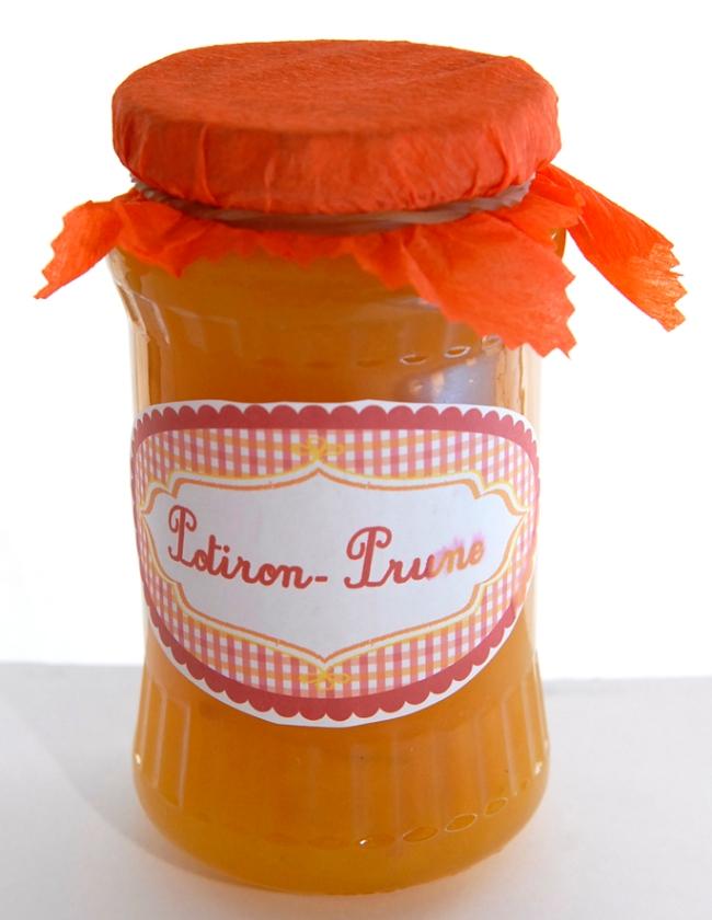 free pintable label jam-confiture de potiron prune maison 4