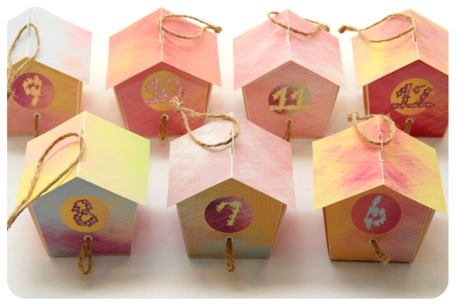 free printable advent calendar nichoir boite 14