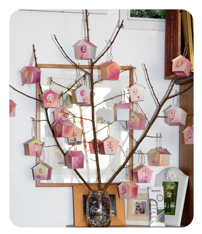 free printable advent calendar nichoir boite 27