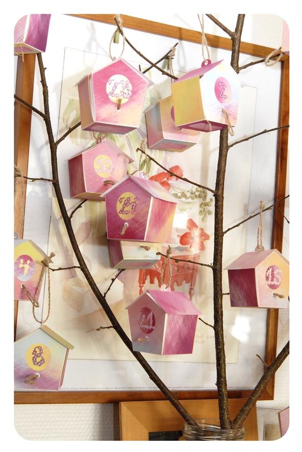 free printable advent calendar nichoir boite 28
