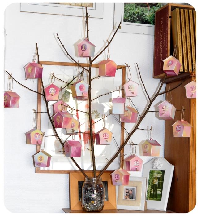 free printable advent calendar nichoir boite 30