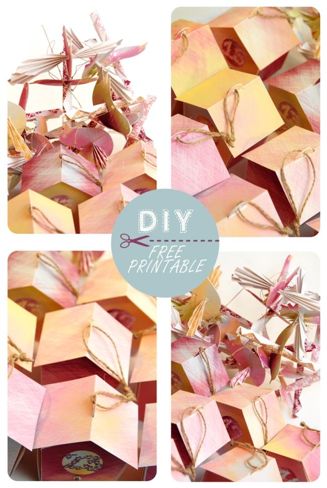 free printable advent calendar nichoir boite 32