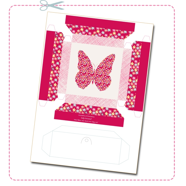 free printable butterfly collection box 1