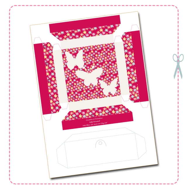 free printable butterfly collection box 3
