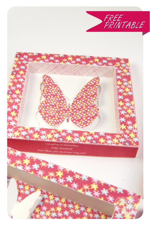 free printable butterfly collection box 6