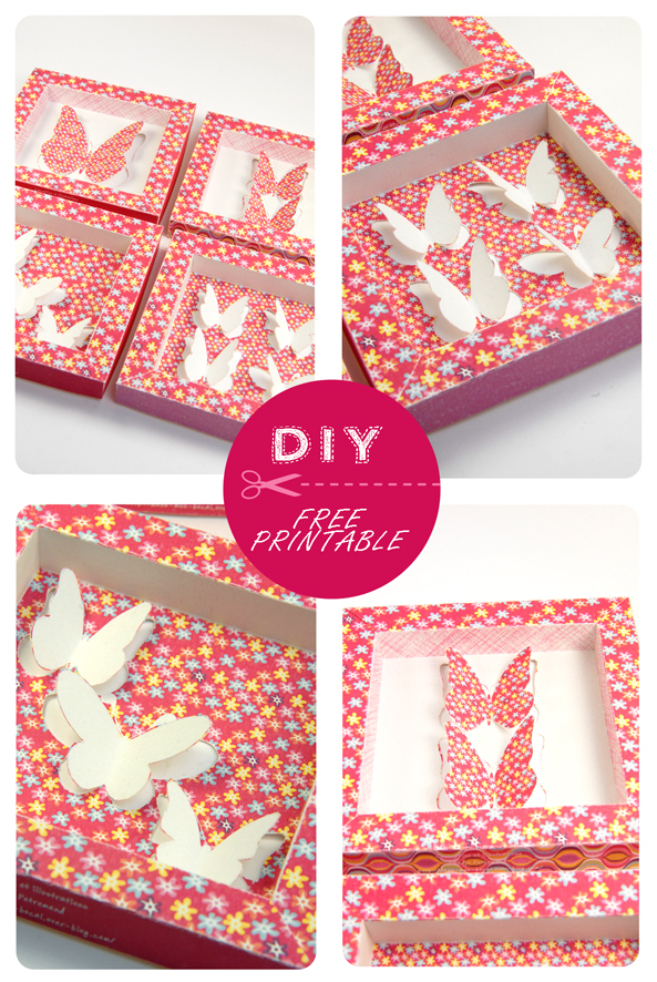 free printable butterfly collection box 7