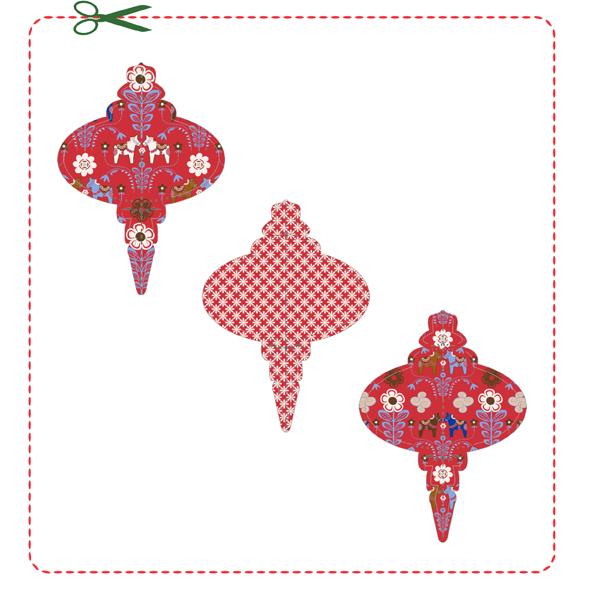 free printable calendar date decembre boule de noel 2014