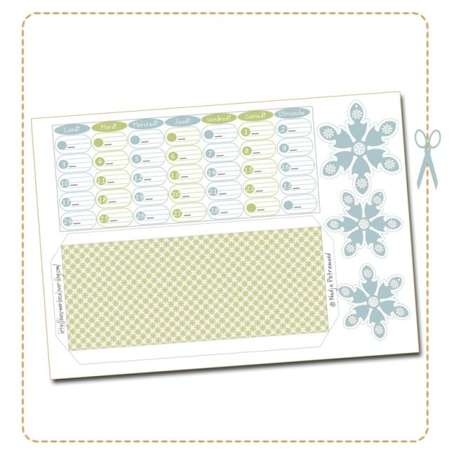 free printable calendar date fevrier 2014