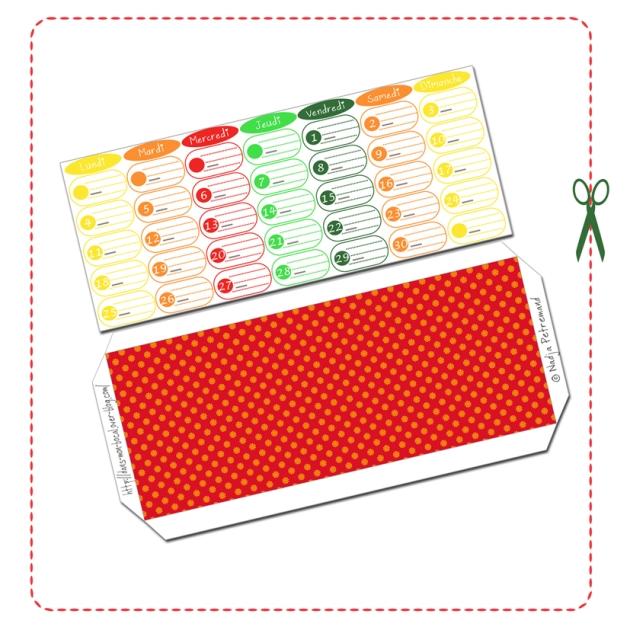 free printable calendar date novembre 2014