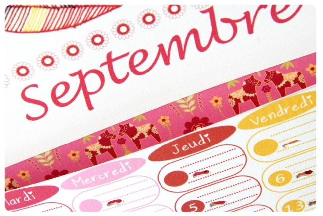 free printable calendar septembre 1