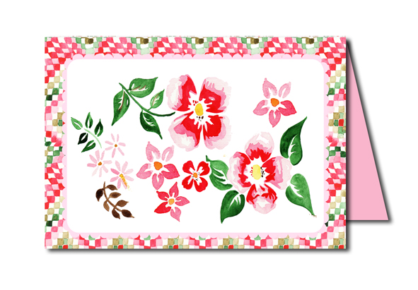 free printable card flower carte a imprimer gratuitement