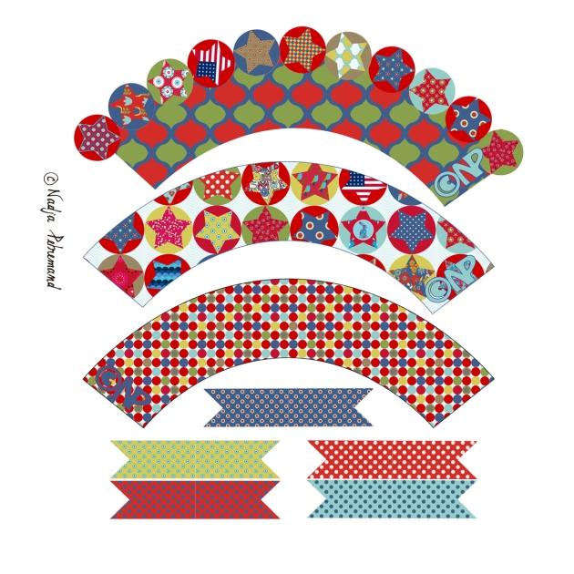 Easter Basket Cupcake Wrapper