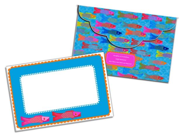 free printable enveloppe koinobori