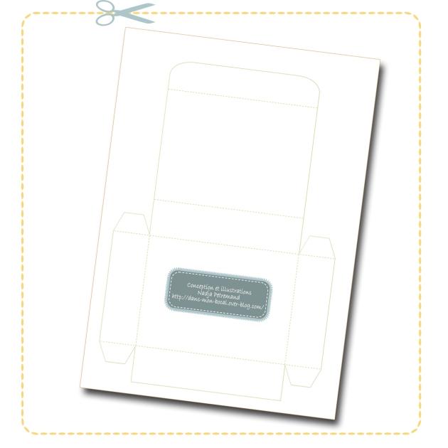 free printable father day box boite fête des pères gratuit à colorier 1