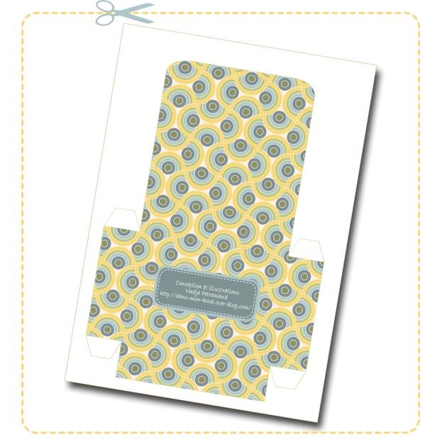 free printable father day gift box boite cadeau fête des père gratuit 1