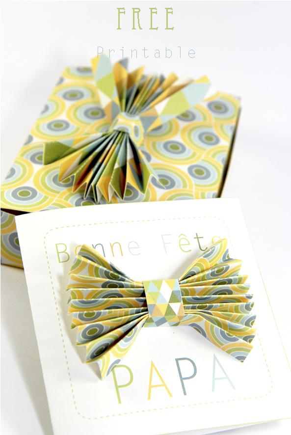 free printable father day gift box boite cadeau fête des père gratuit 7