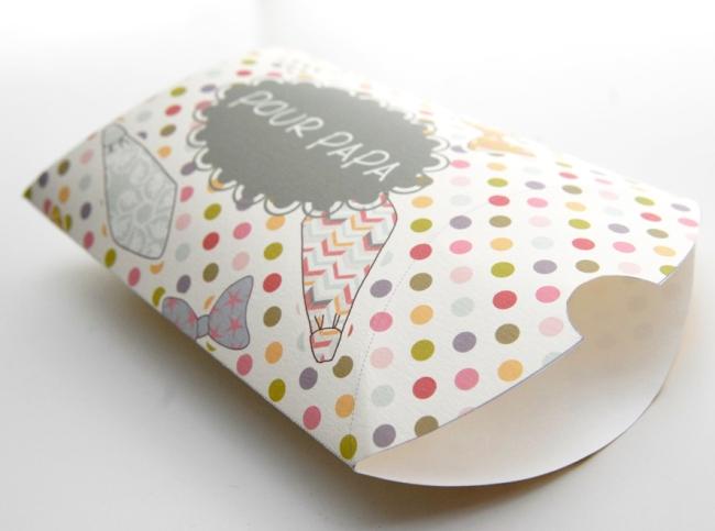 free printable father day gift box gratuit boite fête des père 3