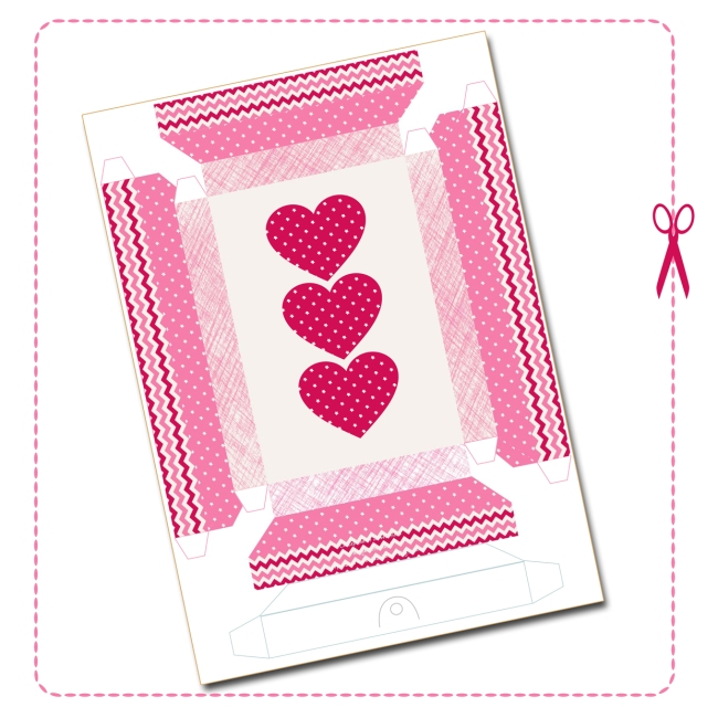 free printable heart frame