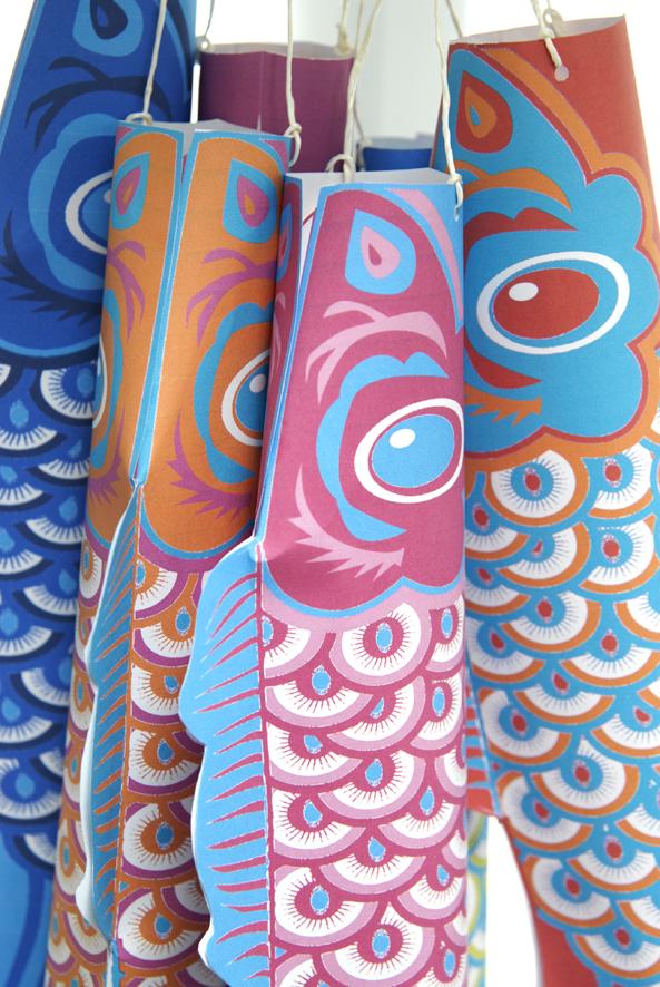 free printable koinobori lampion image 3