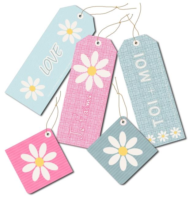 free printable label tag valentine day 1
