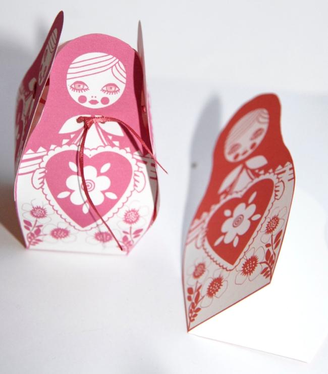 free printable matriochka box gratuit boite cadeau poupée russe 3