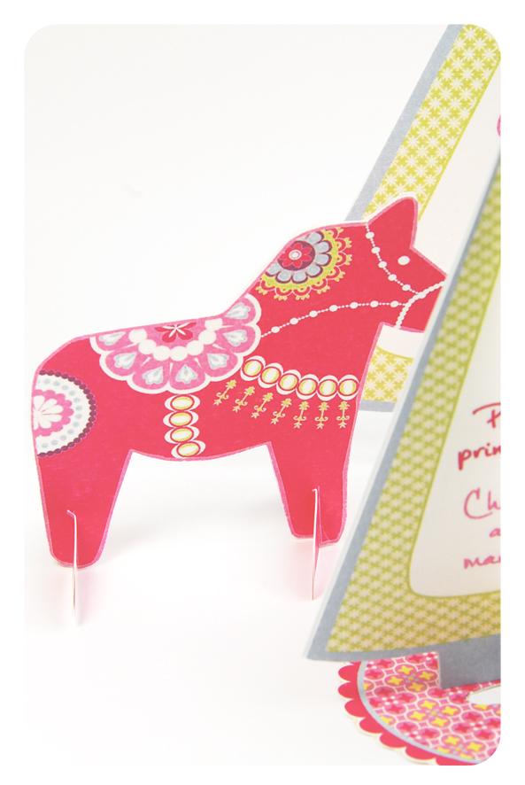 free printable menu dala horse 3