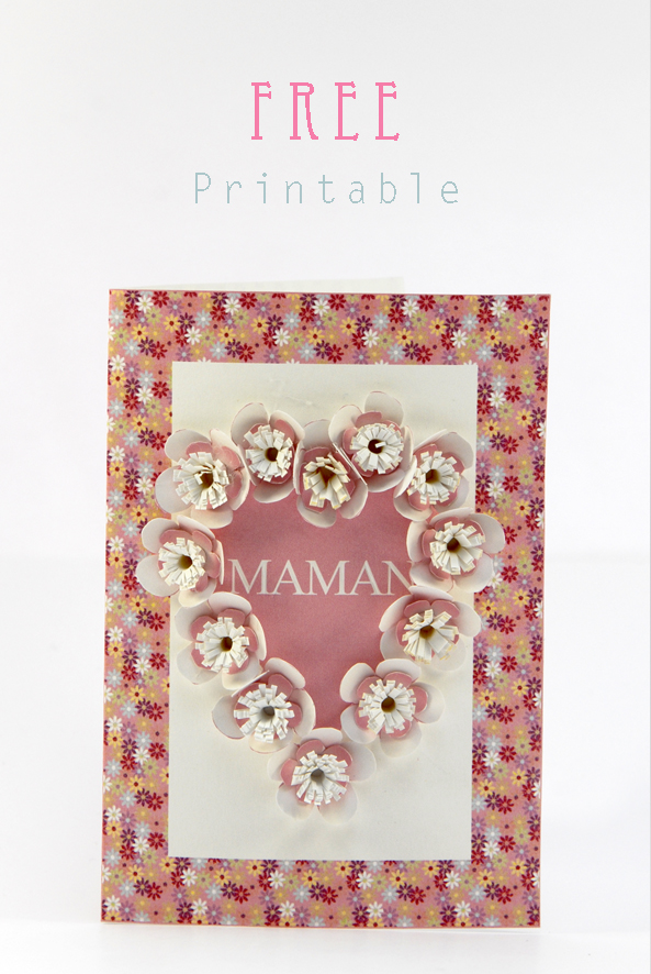 free printable mother day card 2