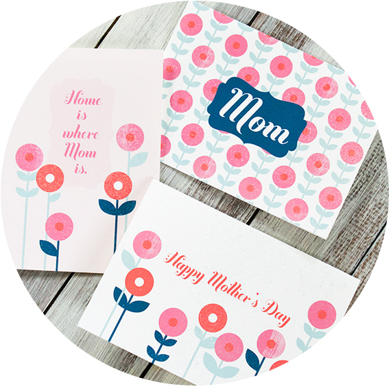 free printable mother day card fête de mère 2