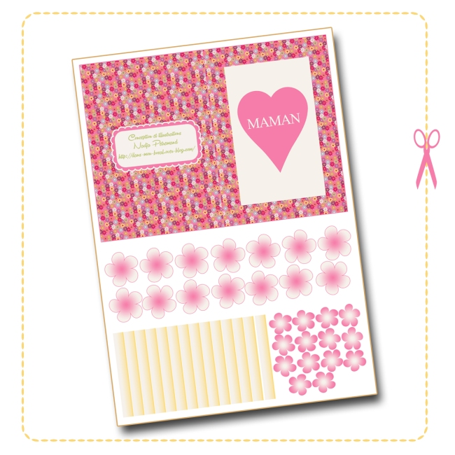 free printable mother day card