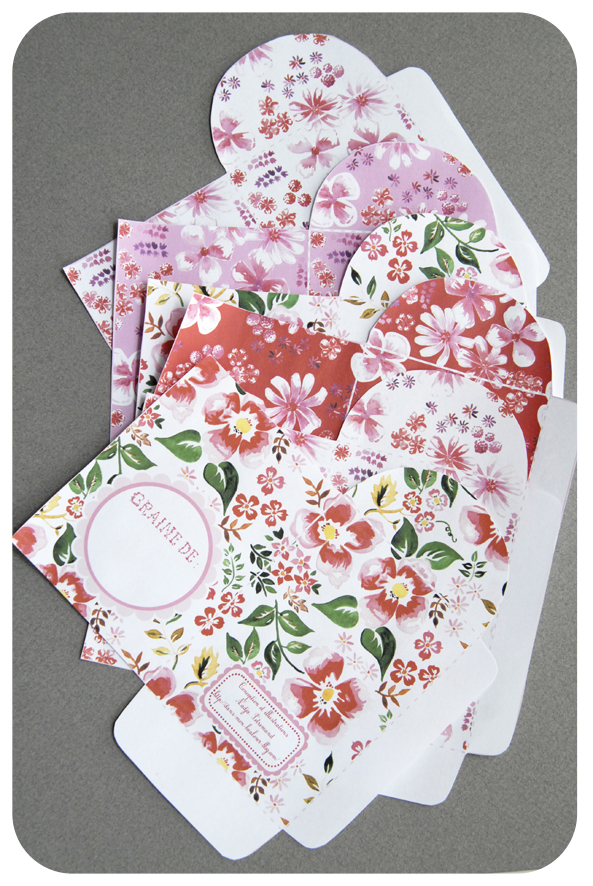 free printable package for seeds gratuit sachet graines 5