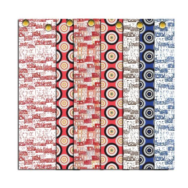 free printable pattern petit papier scrap motif city