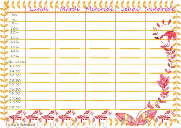 free printable planning dala horse