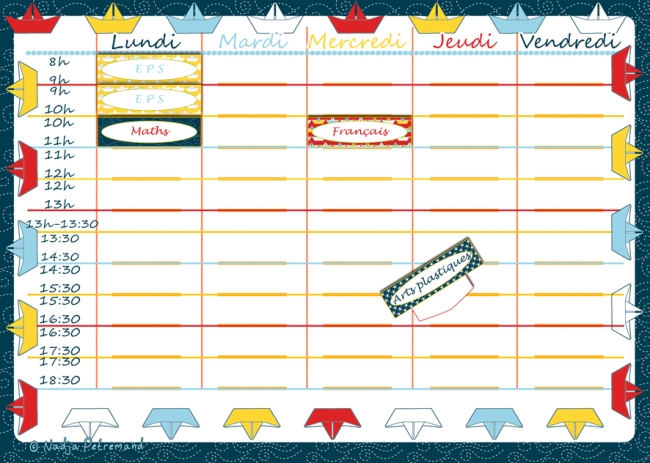 free printable planning paper boat 1