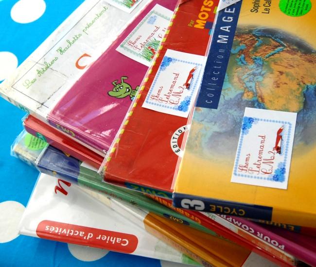 free printable scool book labe little foxl-étiquettes à imprimer gratuitement image