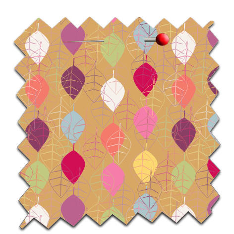free printable scrap paper fall leaves 4