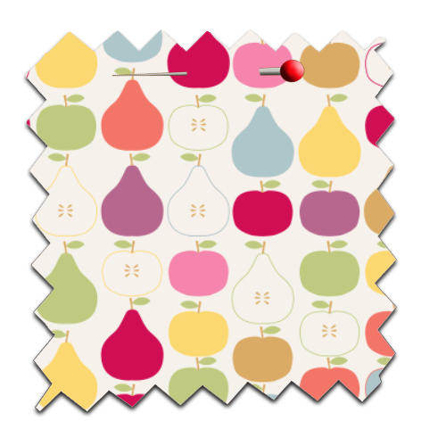 free printable scrapbooking paper apple pear 4