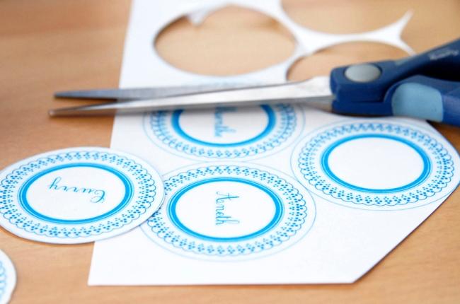 free printable spice label - étiquette pour pot à épice à imprimer gratuitement image 1.