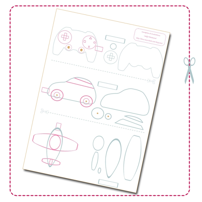 free printable template key Chain