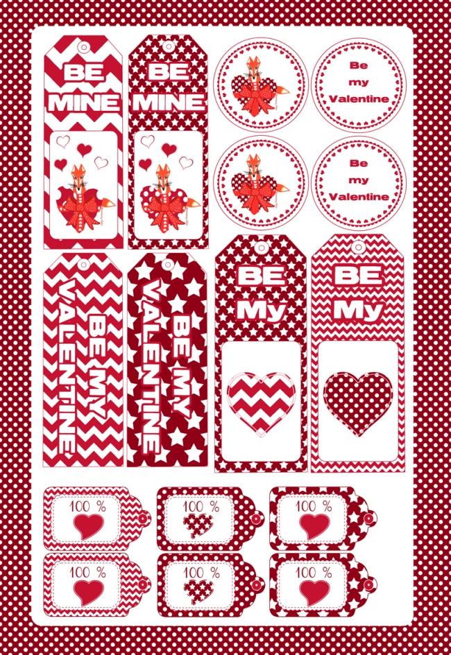 free printable valentine gigt tag-gratuit étiquette st valentin