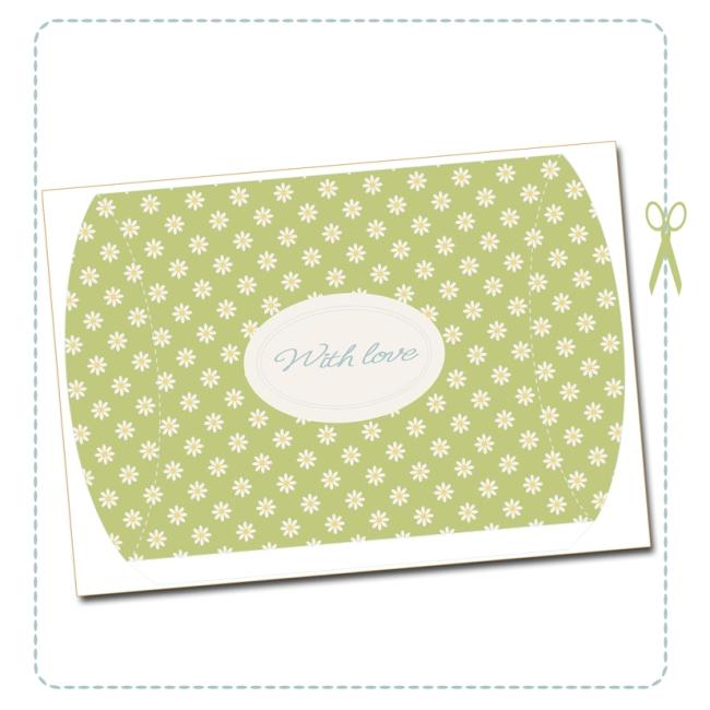 free printable valentine pilow box 1