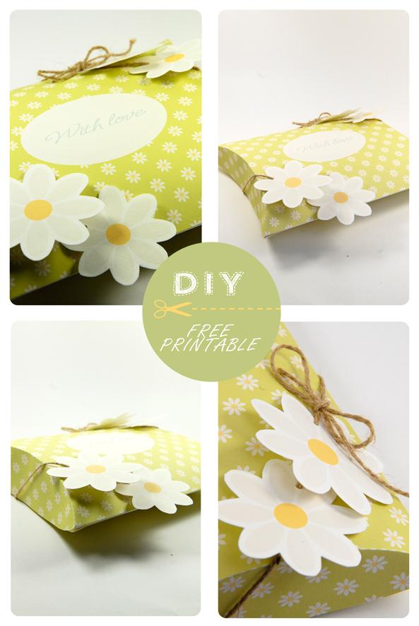 free printable valentine pilow box 13