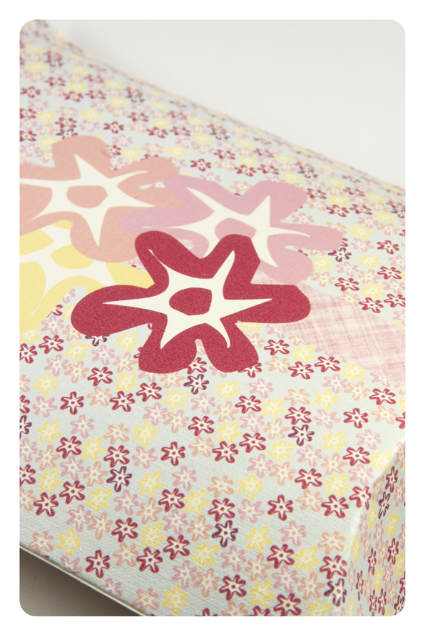 free printable valentine pilow box flower pattern 4