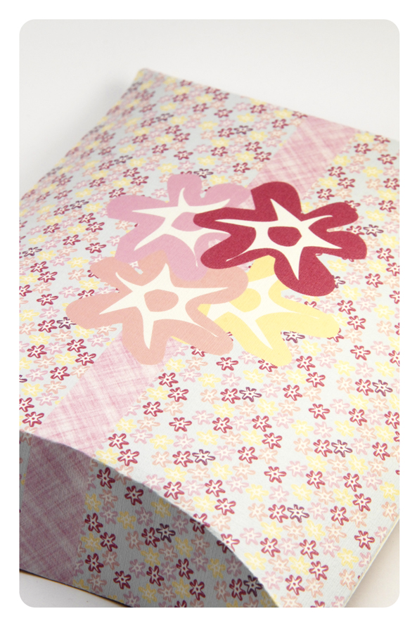 free printable valentine pilow box flower pattern 7