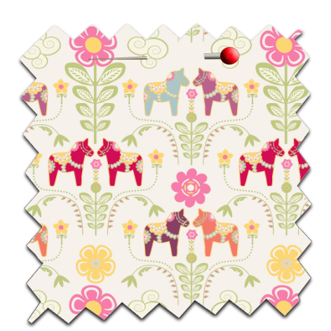 free printable wrap paper dala horse 3