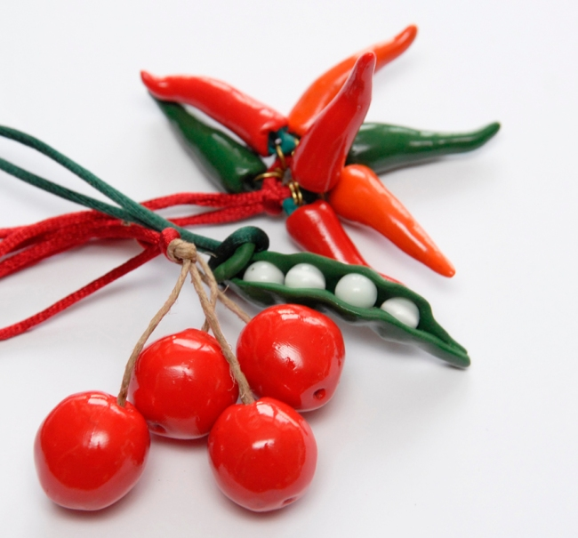 fruit et légume fimo