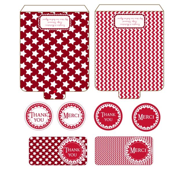 gratuit boite cadeau petit coffre à imprimer couvercle free printable gift box