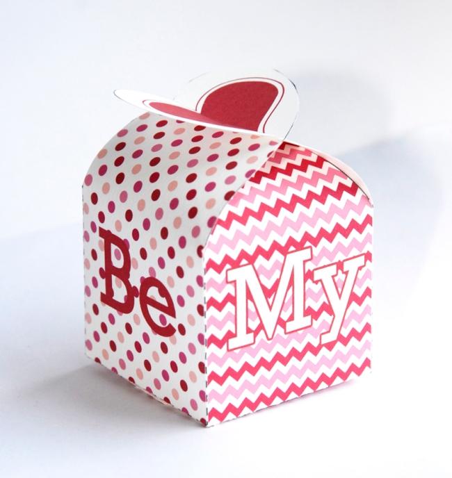gratuit boite cadeau st valentin à imprimer free printable box template 1