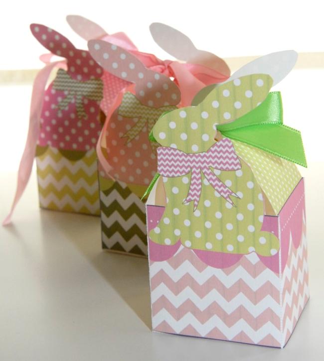 gratuit boite paques à imprimer free printable easter box 4